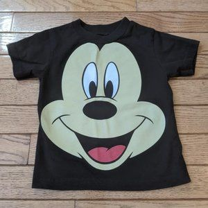 Disney Mickey Mouse Face T Shirt